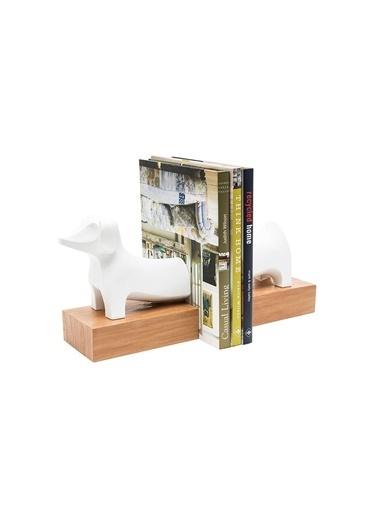 Warm Design Köpek Kitap Düzenleyicisi Beyaz